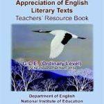 Appreciation of English Literary Texts