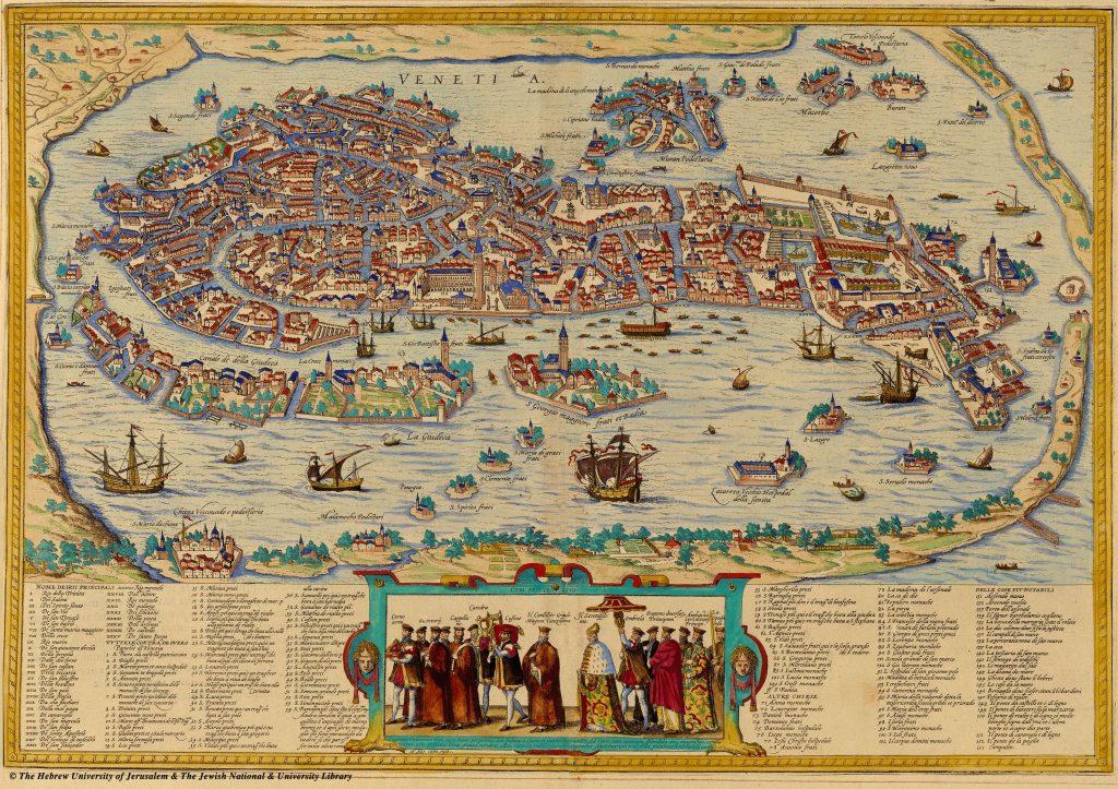 Map of Venice - Othello