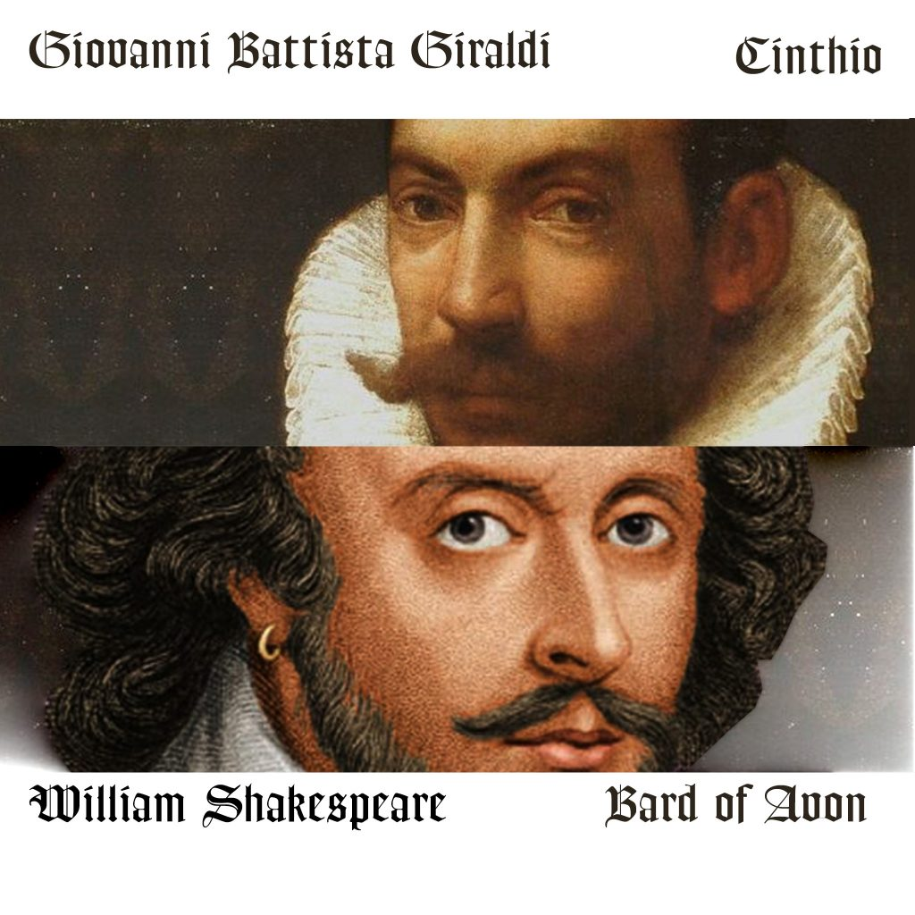 Shakespeare and Cinthio