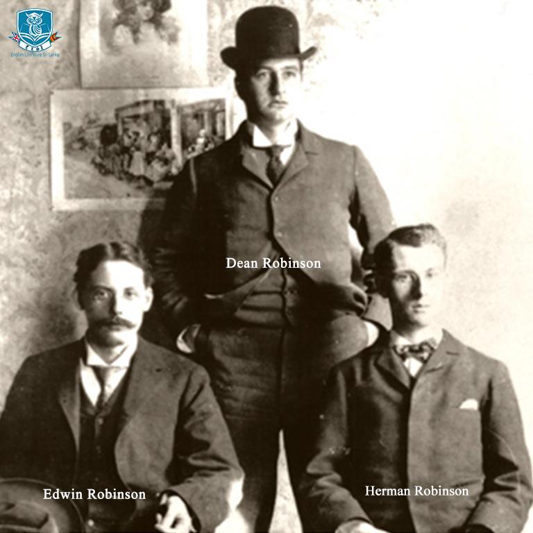Edwin Arlington Robinson, Herman Robinson, Dean Robinson
