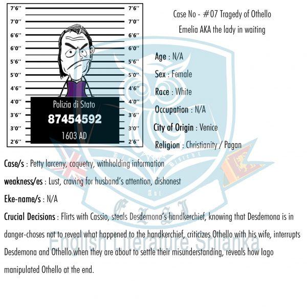 ELSL-Emilia character summary