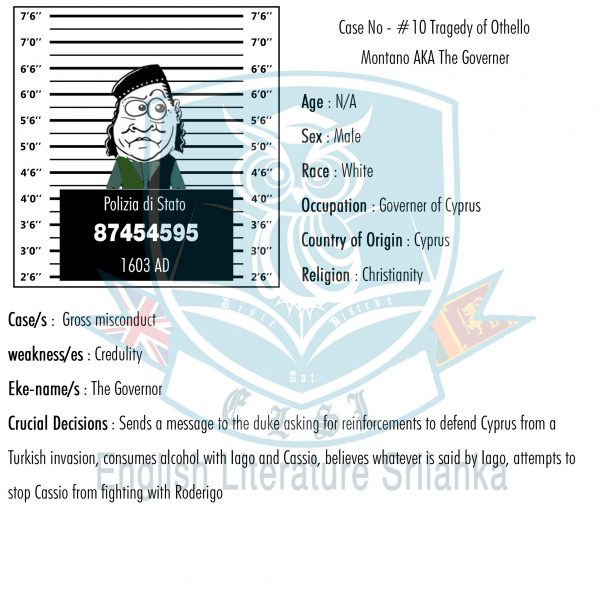 ELSL-Montano character summary