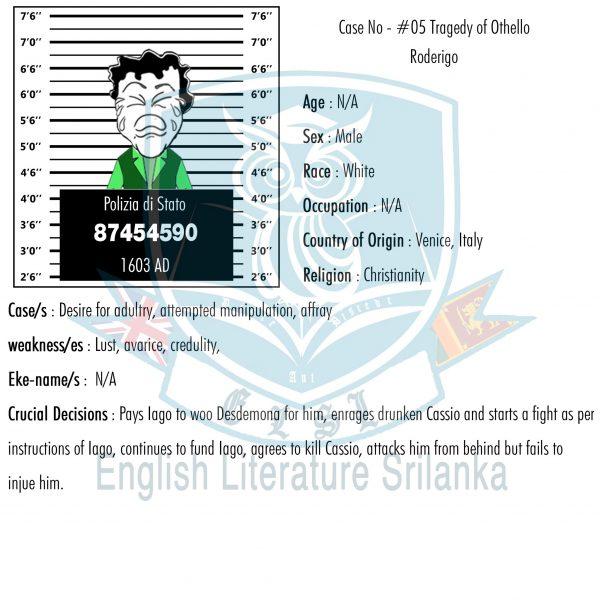 ELSL-Roderigo character summary