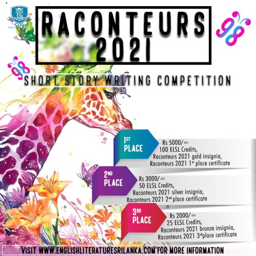 raconteurs short story writing competition 2021
